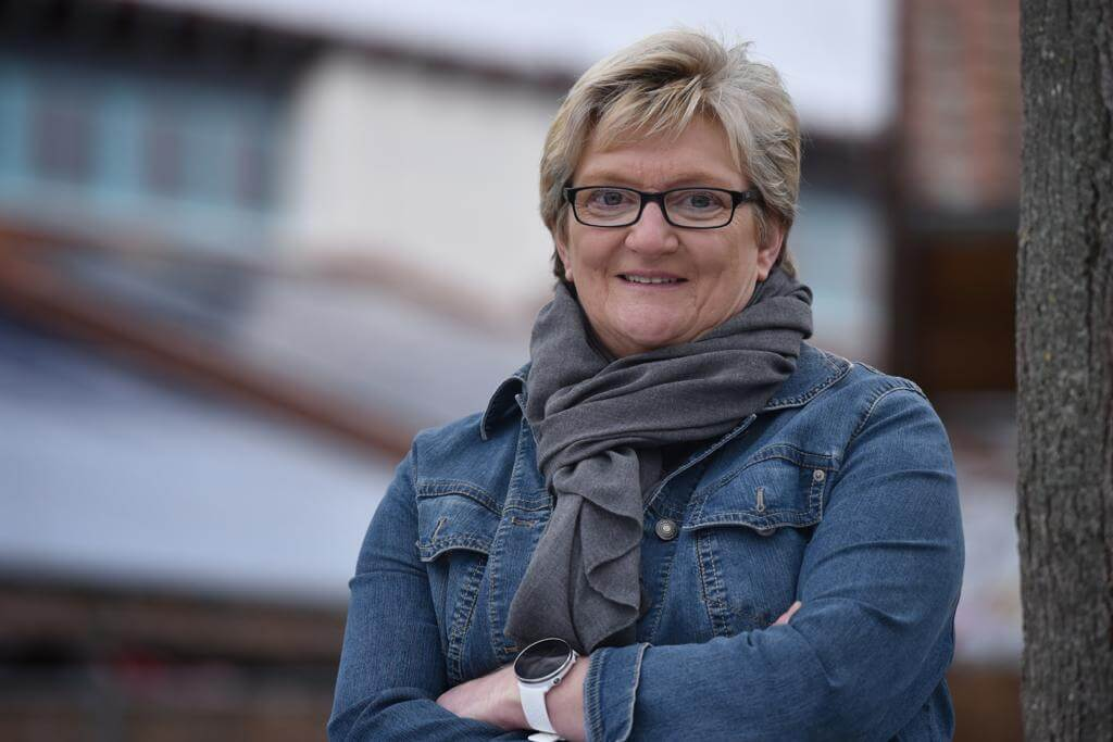 Ortsbürgermeisterin Jutta Hoff